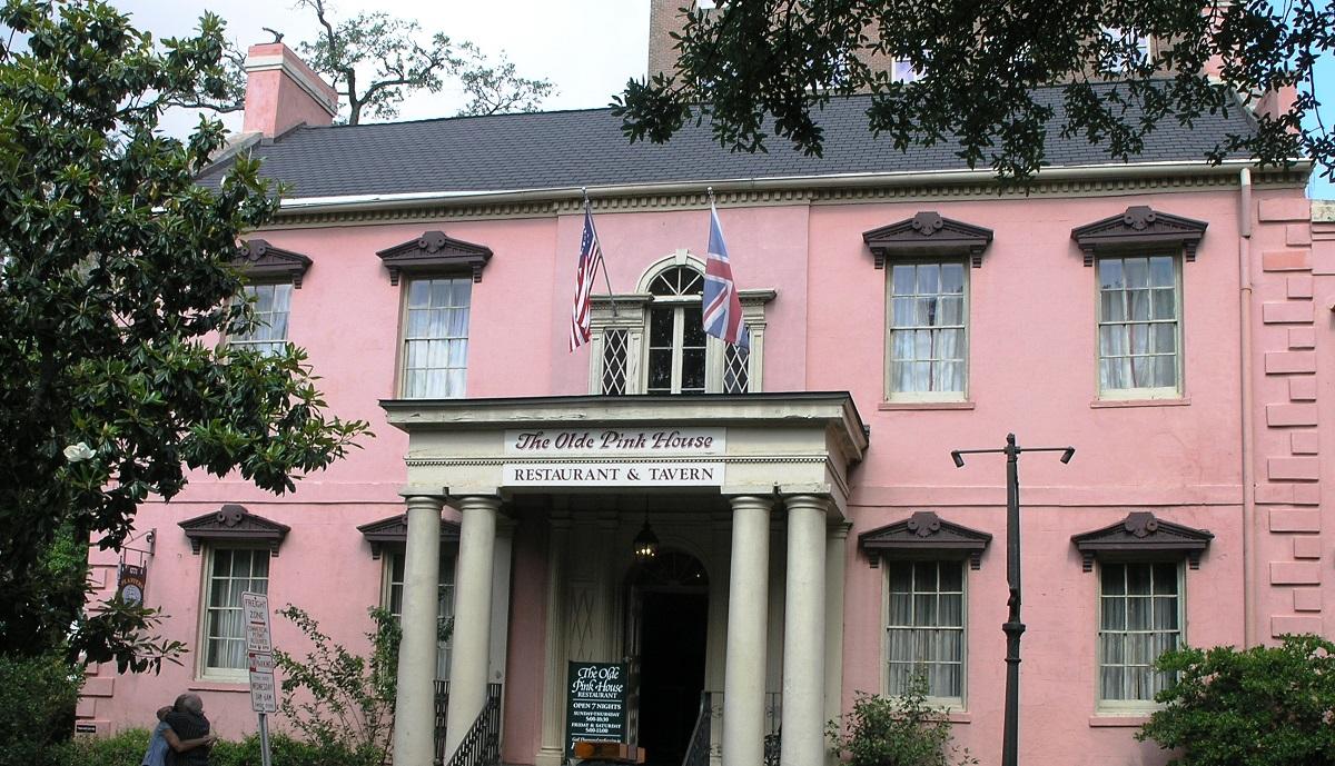 Olde Pink à Savannah
