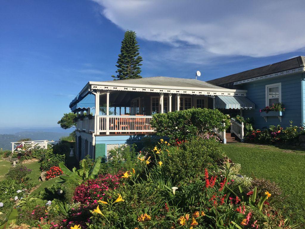 maison Montagnes Bleues Jamaïque