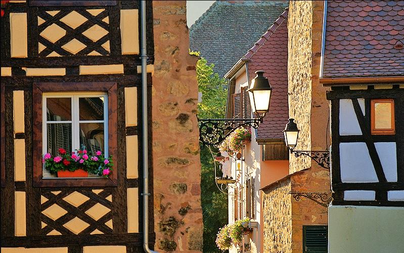 maisons à colombages Eguisheim
