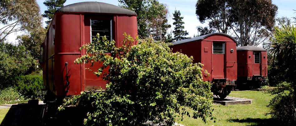 wagons transformés en habitation