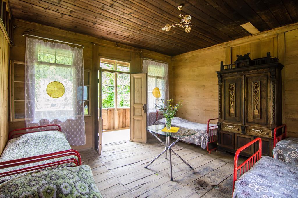 maison en bois georgie