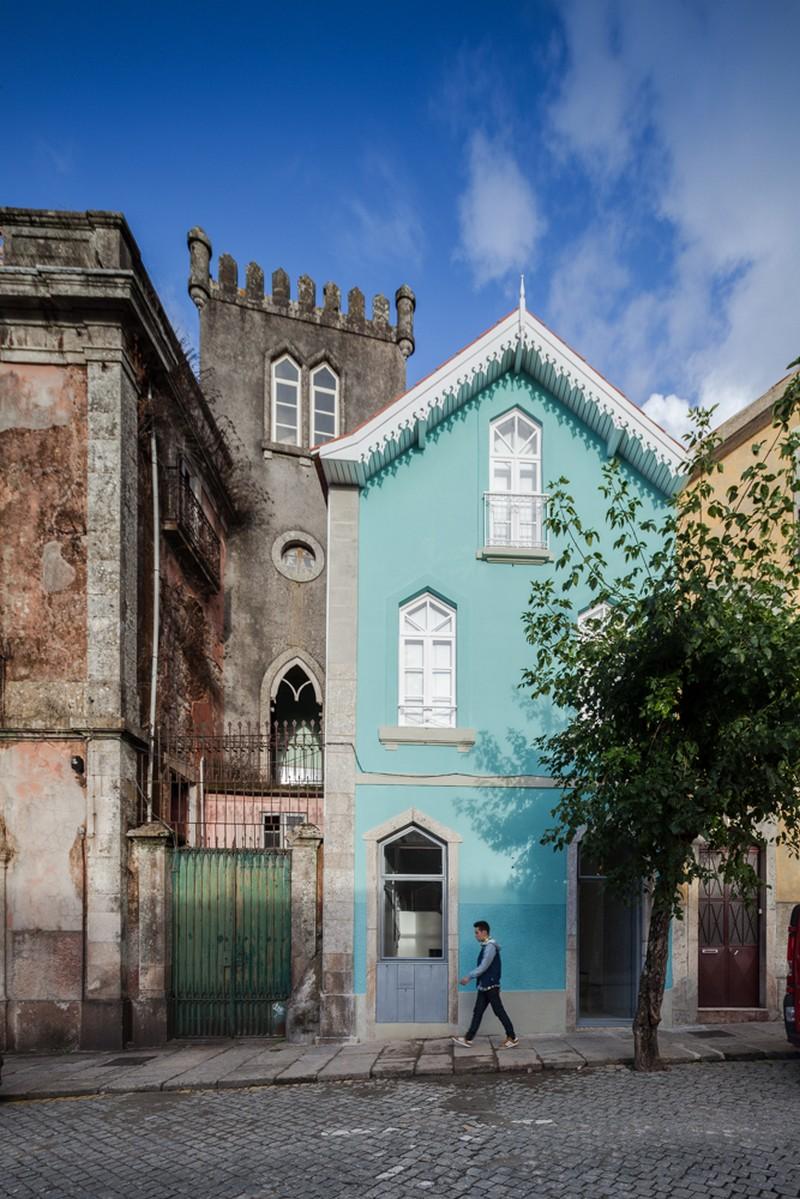 R novation d 39 une maison historique au portugal for Maison prefabriquee au portugal