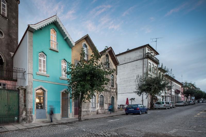maison historique au Portugal