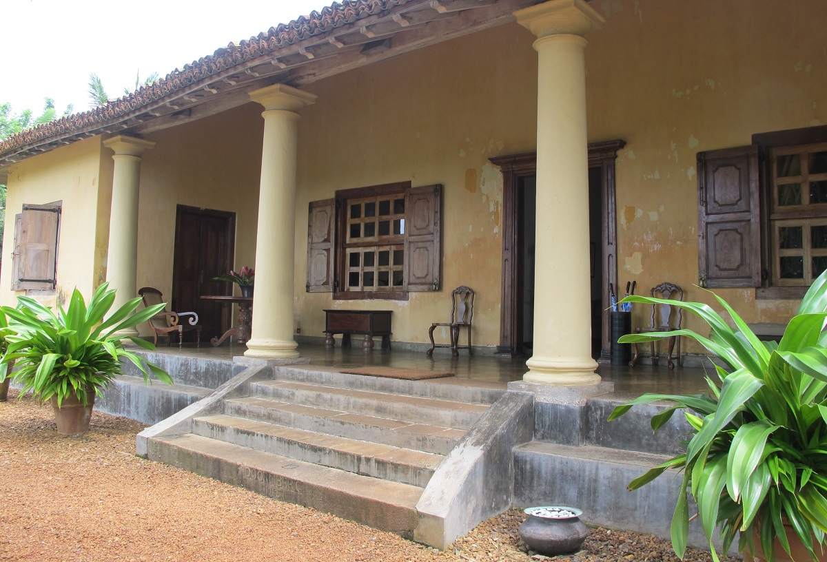 maison coloniale galle