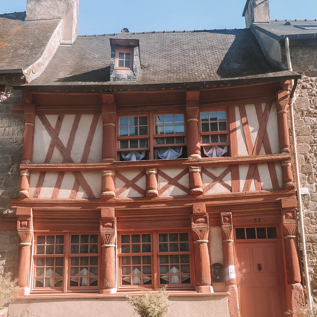 Les Maisons A Pans De Bois De Saint Brieuc