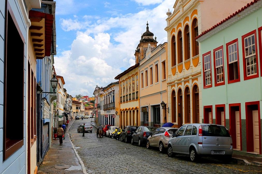 maisons coloniales Sao Joao del Rei