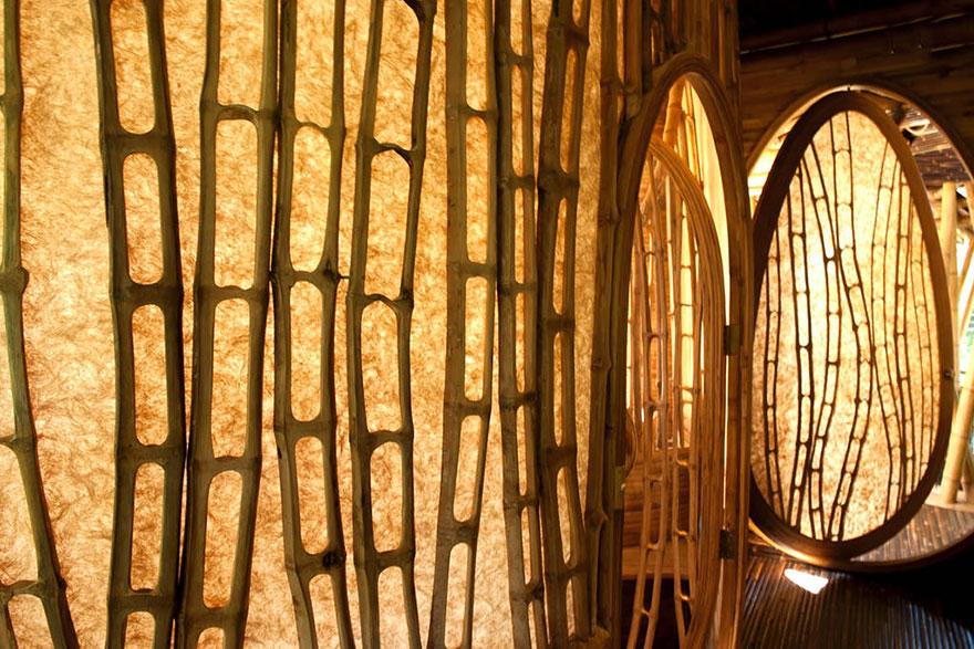 maisons bambou bali