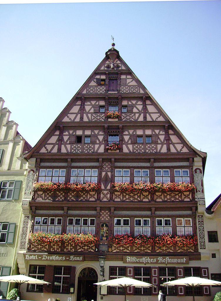maison colombage Dinkelsbühl