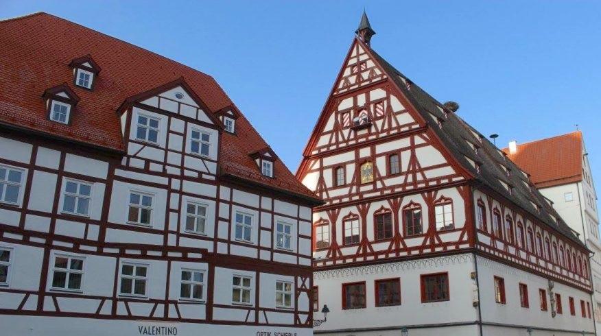 maisons colombages Dinkelsbühl