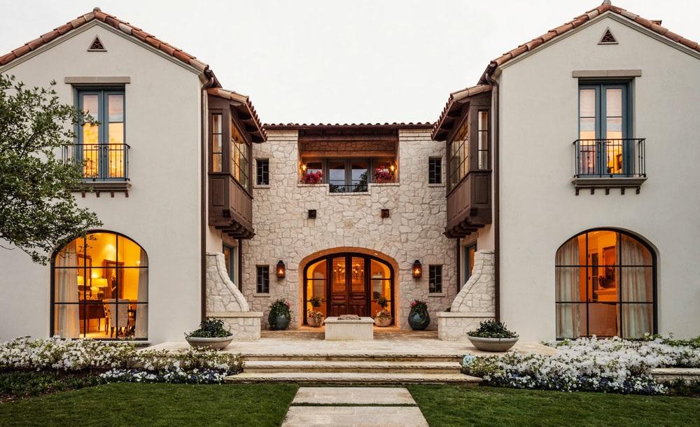 Photo Maison Mediterraneenne magnifique résidence méditerranéenne au texas