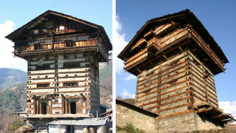 maison traditionnelle inde