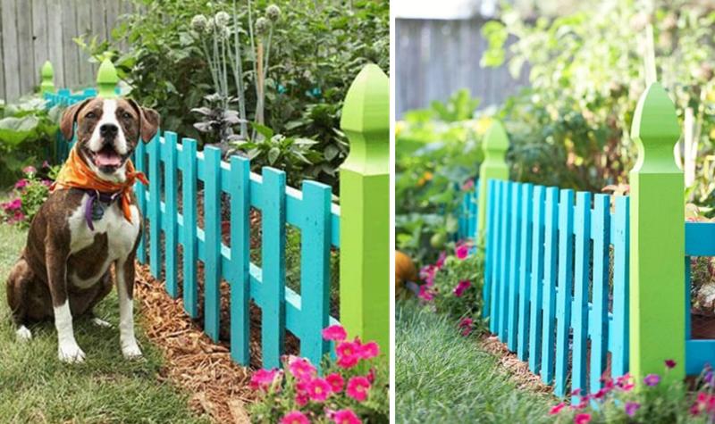 Idées simples pour construire une clôture en bois chez soi
