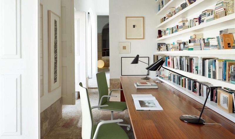 cr er un bureau dans une maison 5 id es simples. Black Bedroom Furniture Sets. Home Design Ideas