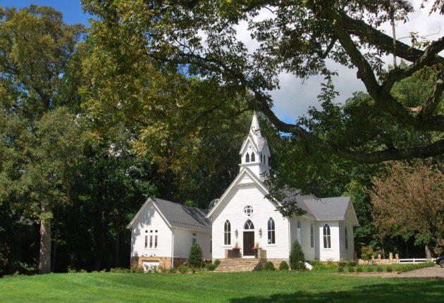 maisons églises