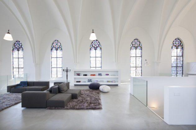 eglise transformée en maison