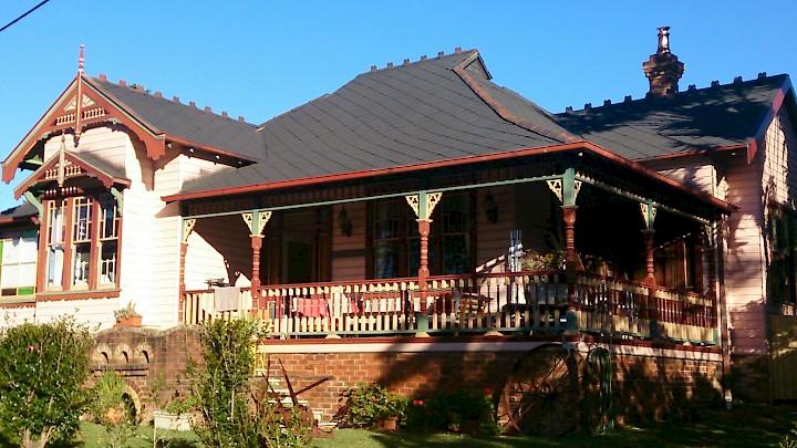 histoire maisons australie