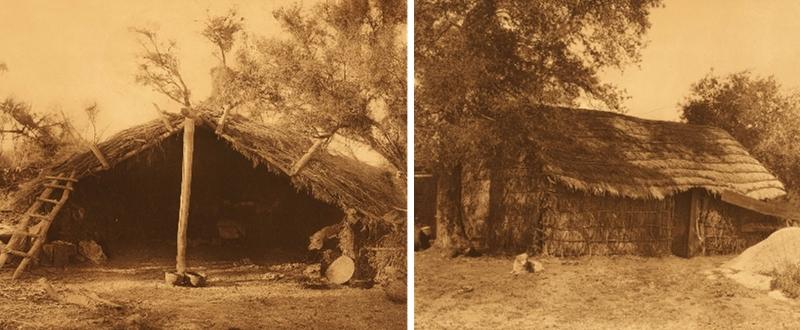 maisons amérindiens