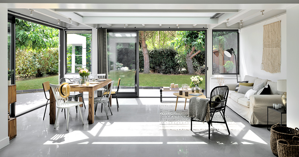 Ajoutez de l'espace à votre maison avec une véranda