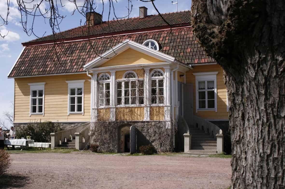maison colorée scandinavie