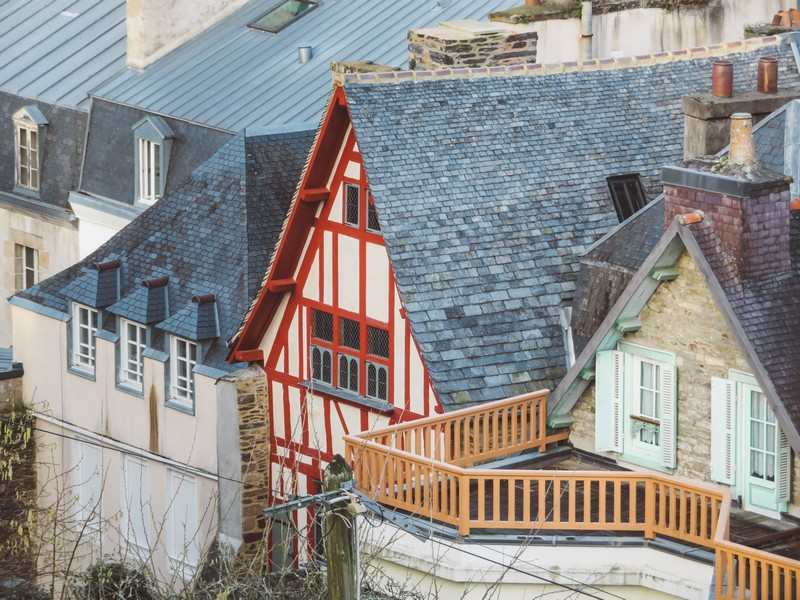 maisons colombage morlaix
