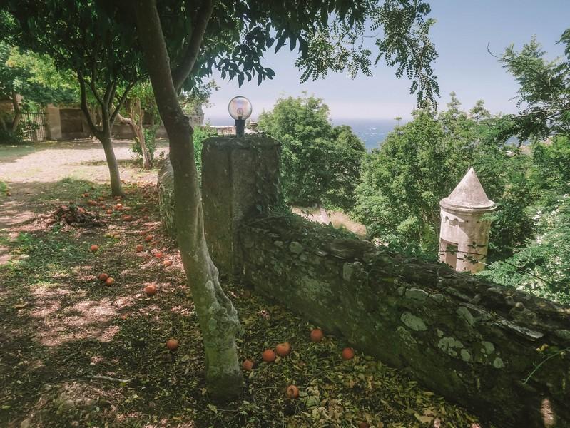 jardin du chateau merlacce