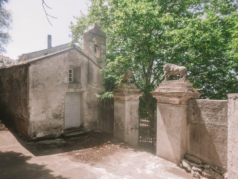chapelle chateau merlacce centuri