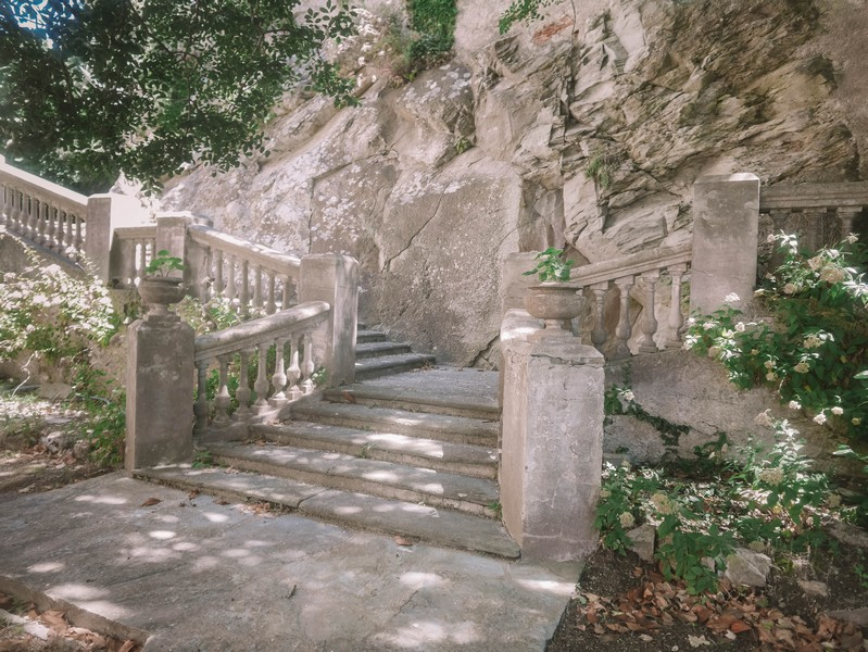 escalier chateau merlacce