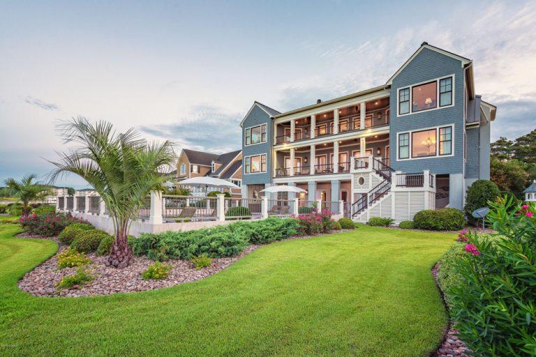 résidence de luxe de bord de mer en Caroline du Nord