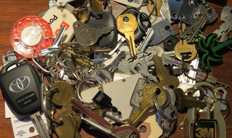 ranger les clefs
