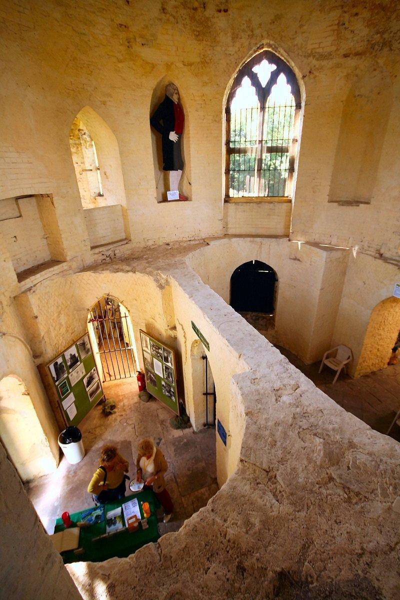 interieur chateau de blaise