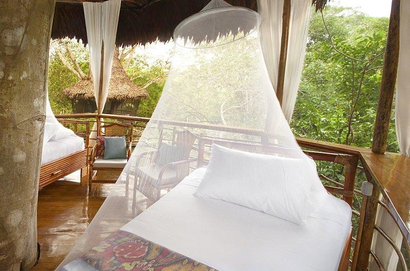cabane dans les arbres de luxe