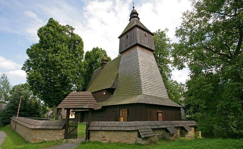 église en bois slovaque