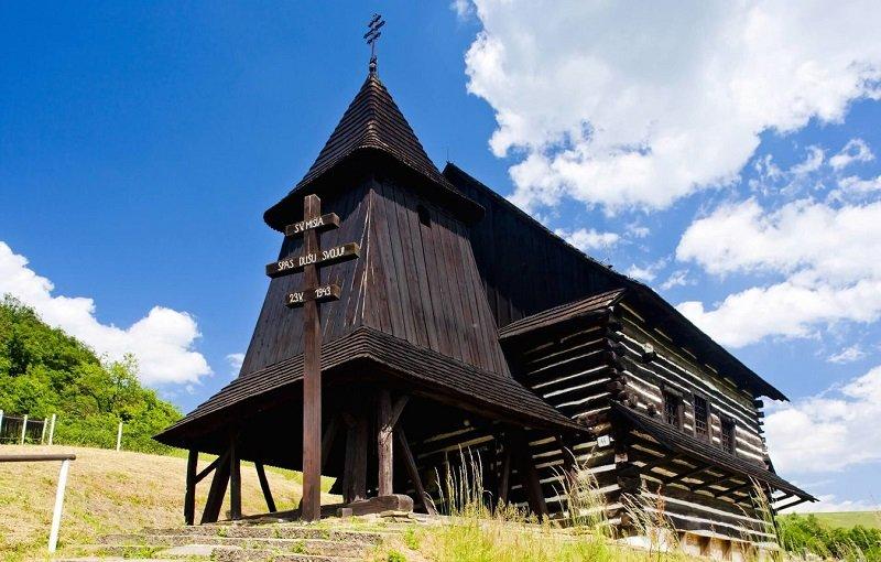 églises en bois slovaquie