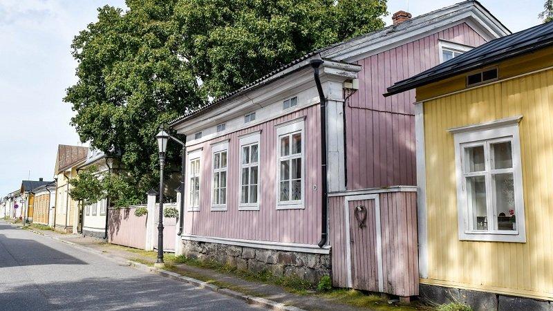 les maisons en bois de Finlande