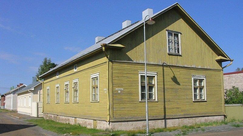 Reposaari maison bois