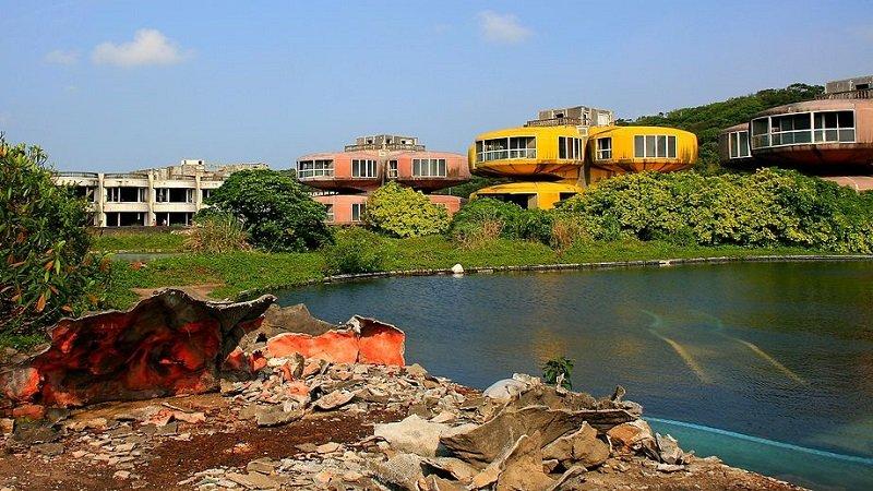 village abandonné de sanzhi