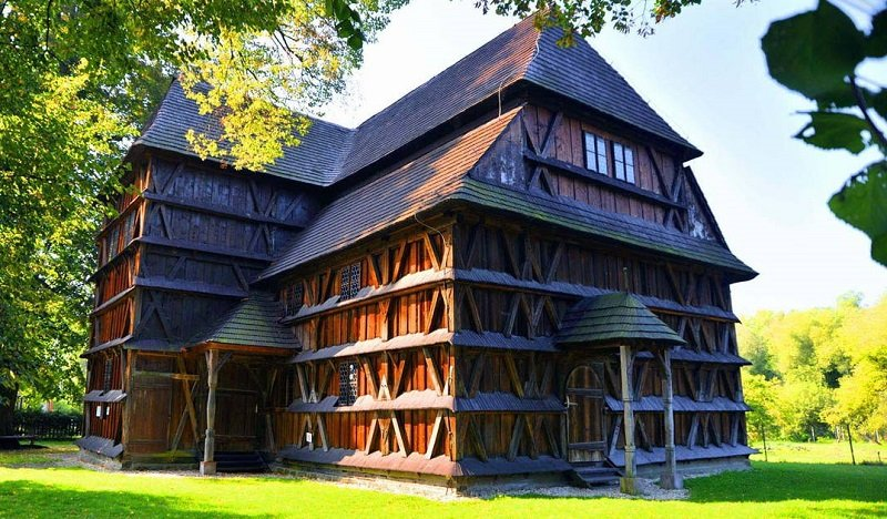 slovaquie eglises en bois