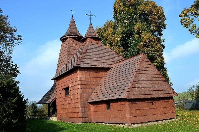 les églises en bois de slovaquie