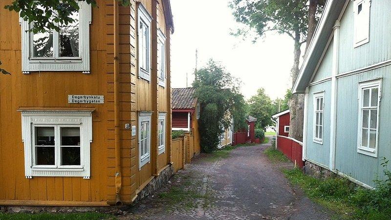 maisons en bois de finlande