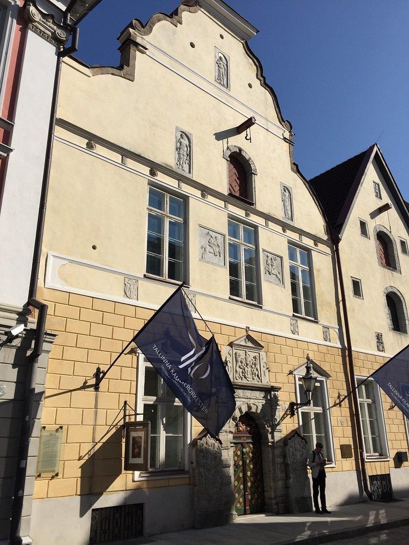 maison tetes noires tallinn estonie