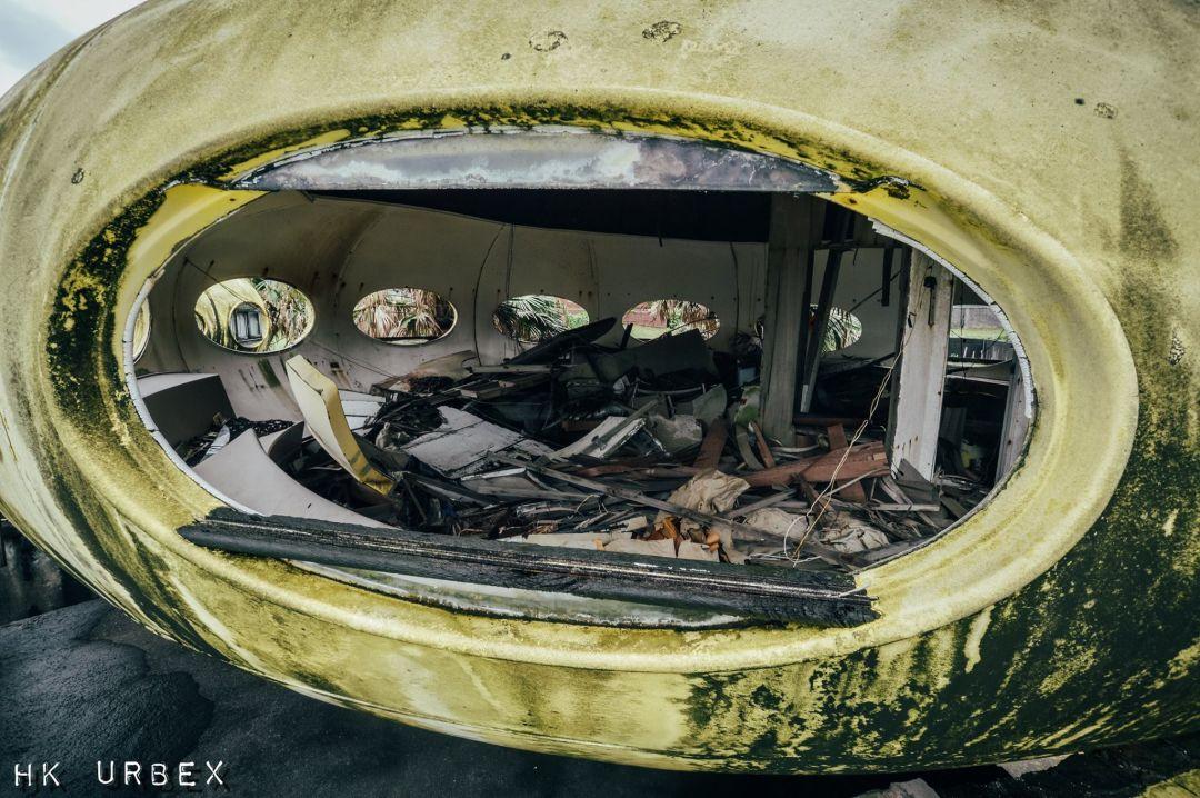 maison futuro abandonnée