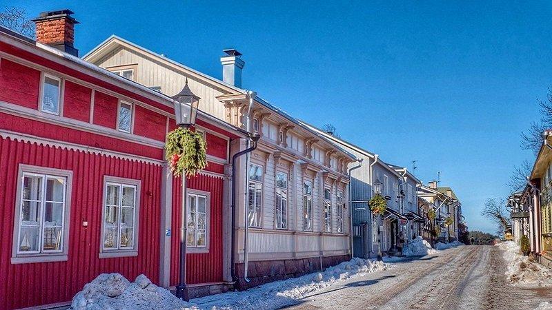 finlande maisons bois
