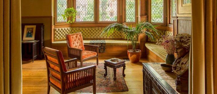 Maison et studio Frank Lloyd Wright interieur