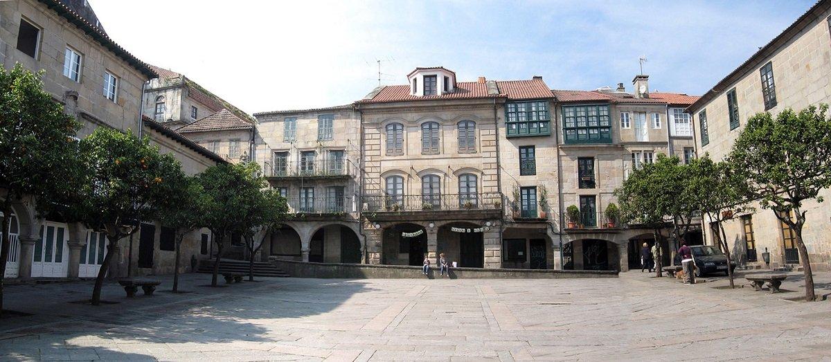 Pontevedra vieux quartier