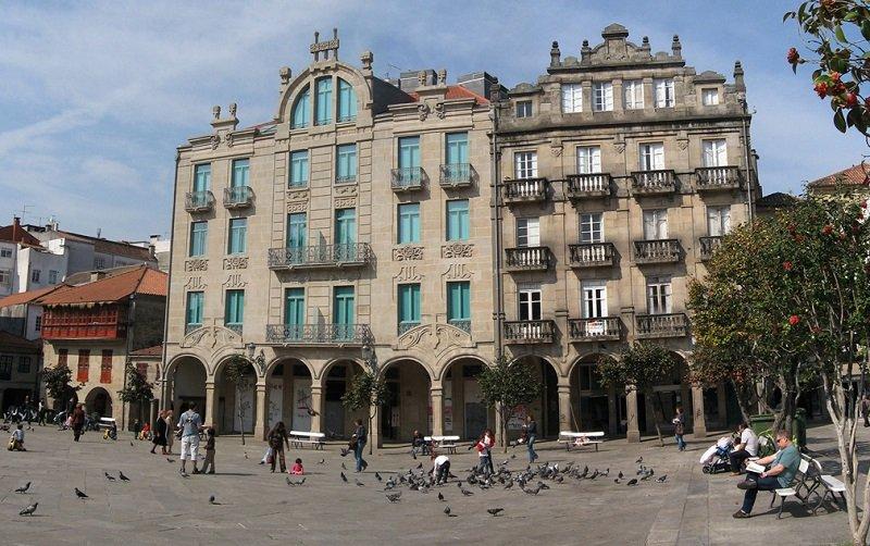 Pontevedra vieilles maisons