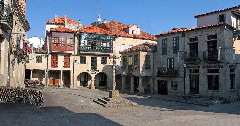 Pontevedra maisons traditionnelles