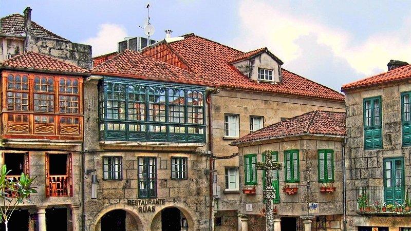 maisons traditionnelles Pontevedra