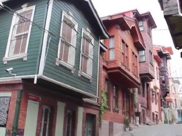 Suleymaniye maisons bois