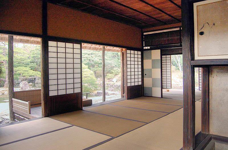 intérieur traditionnel japonais
