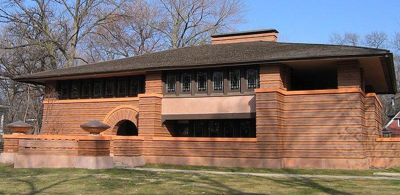 maison brique moderne